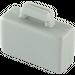 LEGO Medium Stone Gray Minifig Suitcase (4449)