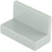 LEGO Medium Stone Gray Panel 1 x 2 x 1 without Rounded Corners (4865)