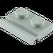 LEGO Medium Stone Gray Plate 1 x 2 with Door Rail (32028)
