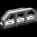 LEGO Medium Stone Gray Plate 1 x 6 with Train Wagon End