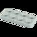 LEGO Mittleres Steingrau Platte 2 x 4 (3020)