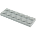 LEGO Medium Stone Gray Plate 2 x 6 (3795)