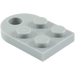 LEGO Medium Stone Gray Plate 3 x 2 with Hole (3176)