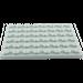 LEGO Medium Stone Gray Plate 6 x 8 (3036)
