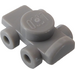LEGO Medium Stone Gray Roller Skate (18747)