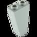 LEGO Medium Stone Gray Slope 1 x 2 x 3 (75°) Inverted (2449)
