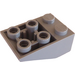 LEGO Medium Stone Gray Slope 2 x 3 (25°) Inverted with Connections between Studs (3747)