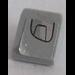 LEGO Medium Stone Gray Slope 31° 1 x 1 with Headlight (Right) Sticker