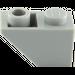LEGO Medium Stone Gray Slope 45° 2 x 1 Inverted (3665)