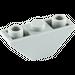 LEGO Medium Stone Gray Slope 45° 3 x 1 Inverted Double (2341 / 18759)