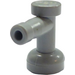LEGO Medium Stone Gray Tap 1 x 1 with Hole in End (4599)
