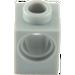 LEGO Medium Stone Gray Technic Brick 1 x 1 with Hole (6541)