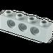 LEGO Medium Stone Gray Technic Brick 1 x 4 with Holes (3701)