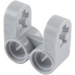 LEGO Medium Stone Gray Technic Cross Block 2 x 2 Split (Axle/Twin Pin) (41678)