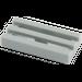 LEGO Mittleres Steingrau Fliese 1 x 2 Gitter (mit Bottom Groove) (2412)