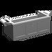 LEGO Medium Stone Gray Treasure Chest Bottom with Slots in Back (4738)
