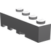 LEGO Medium Stone Gray Wedge 2 x 4 Right