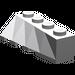 LEGO Medium Stone Gray Wedge 2 x 4 Sloped Right (43720)