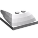 LEGO Medium Stone Gray Wedge 6 x 4 x 1.333 with 4 x 4 Base