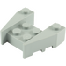 LEGO Medium Stone Gray Wedge Brick 3 x 4 with Stud Notches (50373)