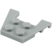 LEGO Medium Stone Gray Wedge Plate 3 x 4 with Stud Notches (4859 / 28842 / 48183)