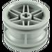 LEGO Medium Stone Gray Wheel Rim Ø30 x 20 with No Pinholes, with Reinforced Rim (56145)