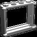 LEGO Medium Stone Gray Window 1 x 4 x 3 with Shutter Tabs