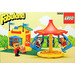 LEGO Merry-Go-Round with Ticket Booth Set 3668