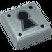 LEGO Metalbeard Fliese 1 x 1 mit Groove (3070 / 47609)