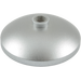 LEGO Metallic Silver Dish 3 x 3 Inverted (15587 / 56640)