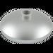 LEGO Metallic Silver Dish 3 x 3 Inverted (15587 / 56640)