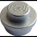 LEGO Metallic Silver Plate 1 x 1 Round (15570 / 51809)