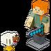 LEGO Minecraft Alex BigFig with Chicken Set 21149