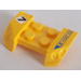 LEGO Mudguard with Overhanging Headlights 2 x 4 with Sticker from Set 8124 (44674)