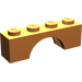 LEGO Orange Arch 1 x 4 (3659)