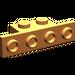 LEGO Orange Bracket 1 x 2 - 1 x 4 without Rounded Corners (2436)