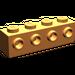 LEGO Orange Brick 1 x 4 with 4 Studs on One Side