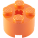 LEGO Orange Brick 2 x 2 Round (6143)