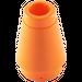 LEGO Orange Cone 1 x 1 with Top Groove (59900)
