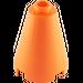 LEGO Orange Cone 2 x 2 x 2 (Open Stud) (3942 / 14918)