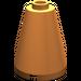 LEGO Orange Cone 2 x 2 x 2 (Safety Stud) (3942)