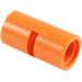 LEGO Orange Pin Joiner Round with Slot (29219 / 62462)
