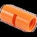 LEGO Orange Pin Joiner Round with Slot (29219 / 62462)