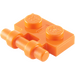 LEGO Orange Plate 1 x 2 with Handle (Open Ends) (2540)