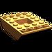 LEGO Orange Slope 4 x 6 (45°) Double Inverted