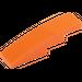 LEGO Orange Slope Curved 4 x 1 (11153 / 61678)