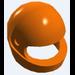 LEGO Orange Standard Helmet (30124 / 88415)