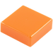 LEGO Orange Tile 1 x 1 with Groove (3070)
