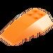 LEGO Orange Wedge 6 x 4 Triple Curved (43712)