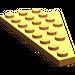 LEGO Orange Wing 4 x 8 Left with Underside Stud Notch (3933)
